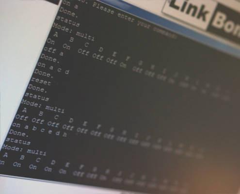 LinkBone laboratory BNC/XLR switch test case automation script